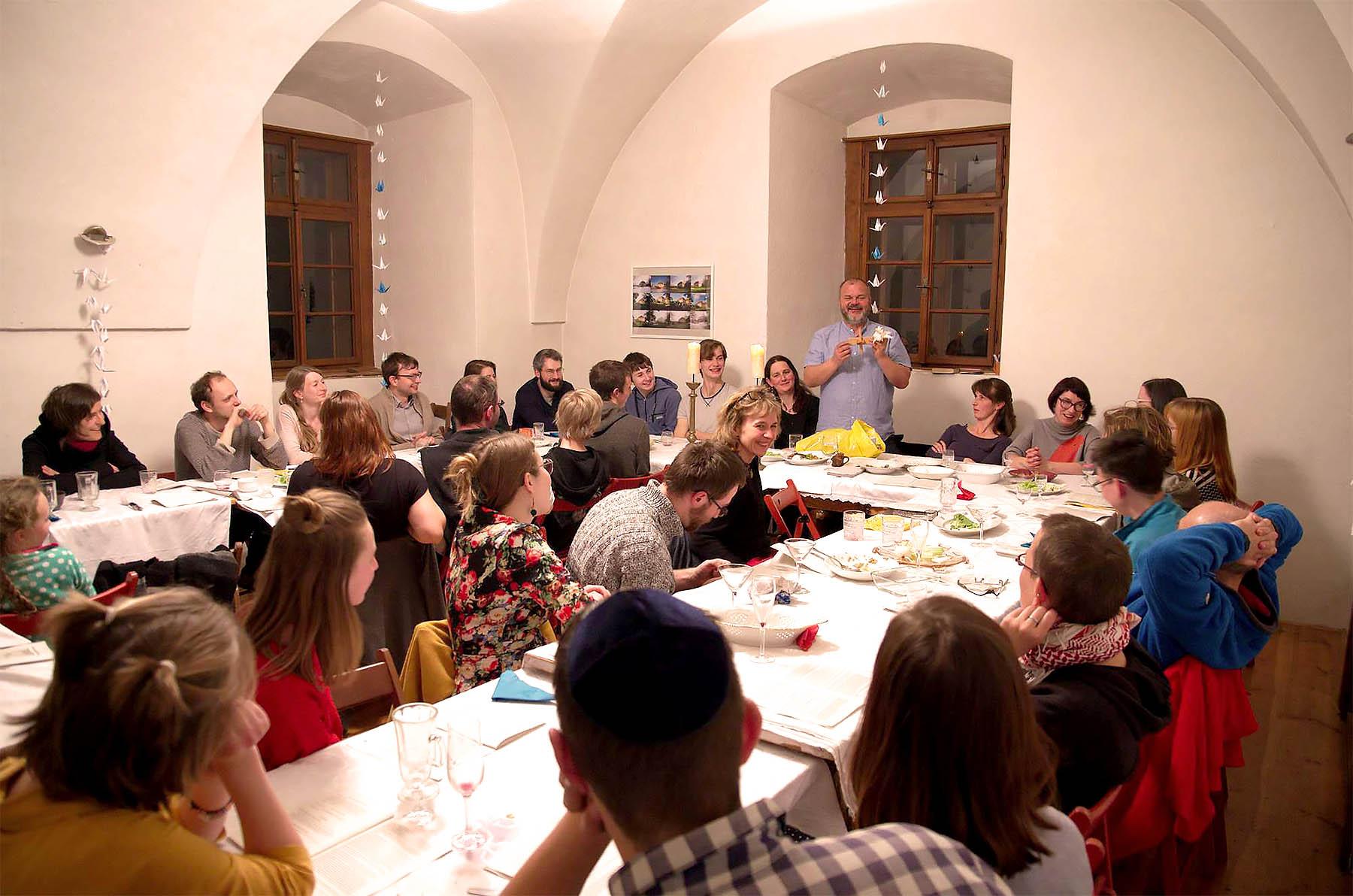 Seder Pesach v Holostrevech 2019
